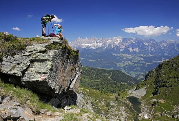 letní dovolená v alpách