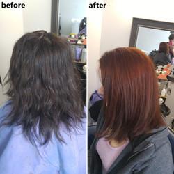 red hair colour