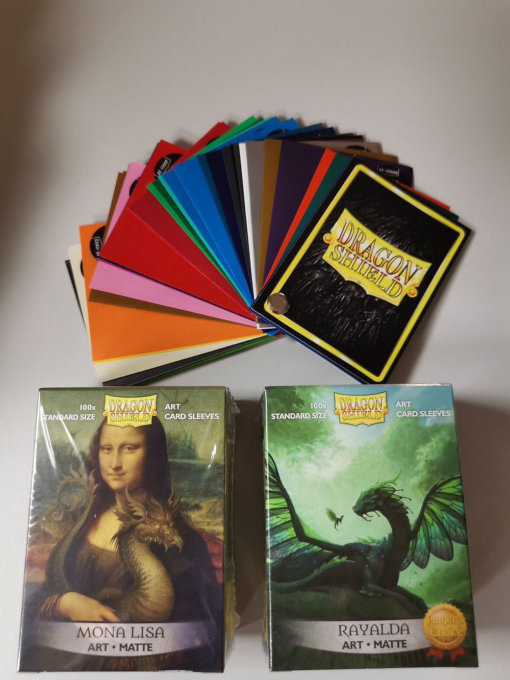 Musterfarbkarte, und Artwork Sleeves, Dragon Shield