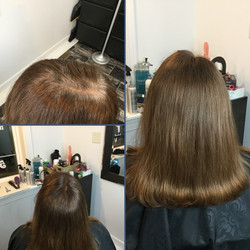 gray root touch-up