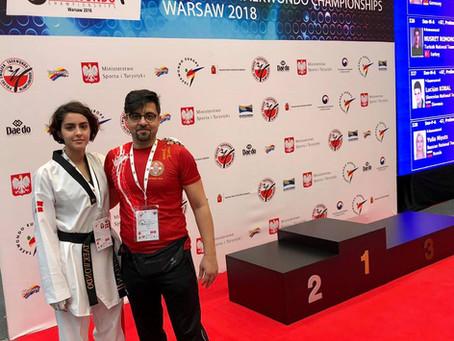 Ayda Jameian til U21-EM