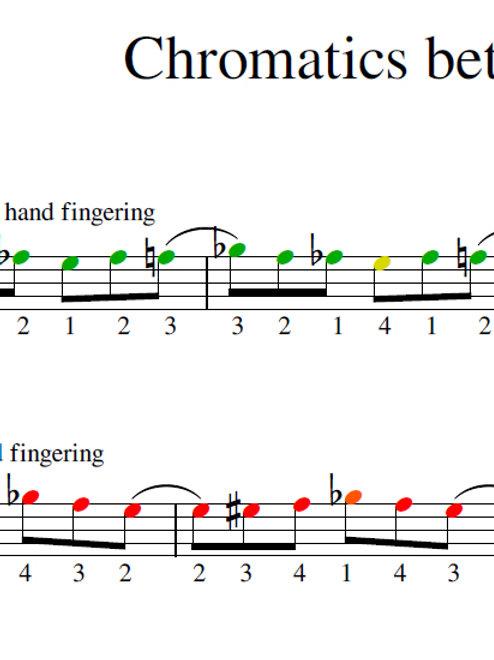 Corona Lesson - Chromatics Between Strings