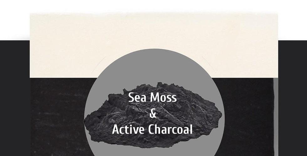 Sea Moss & Active Charcoal Bar Soap