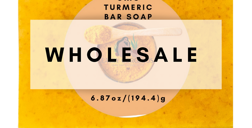 O.M.G . Turmeric Soap Bar