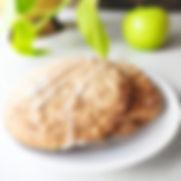 Vegan Gluten-Free Apple Spiced Cookie