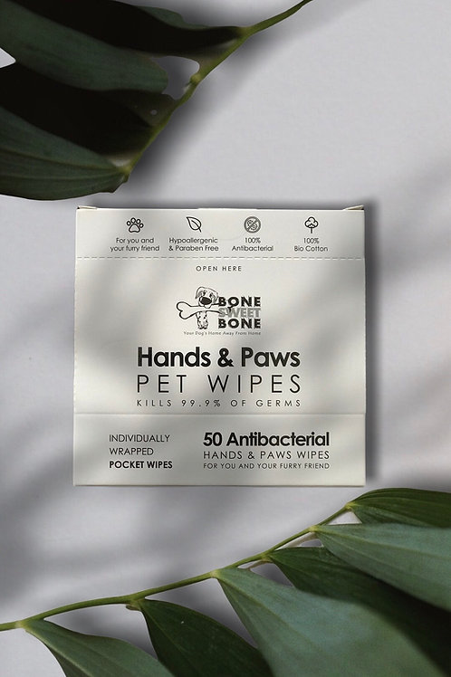 Hand & Paw Pet Wipes