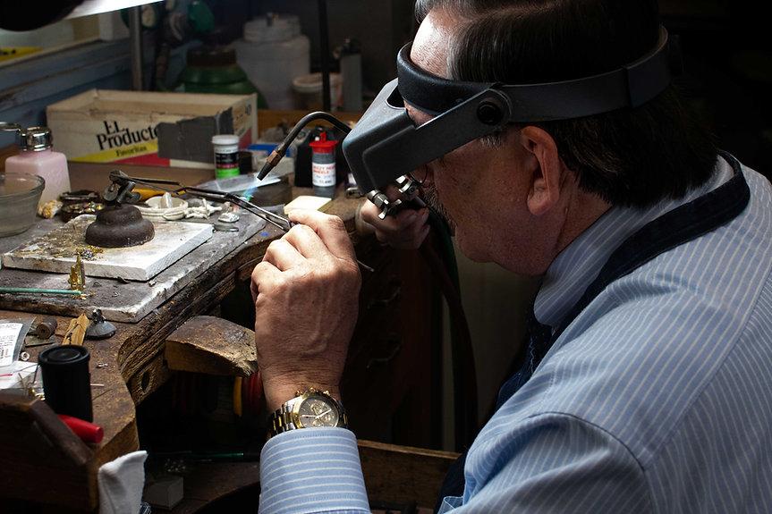 Jack Van Pelt at JVP Jewelers