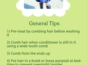 Hair Tips for Little Ones