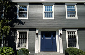 James Hardie Siding and Front Door West