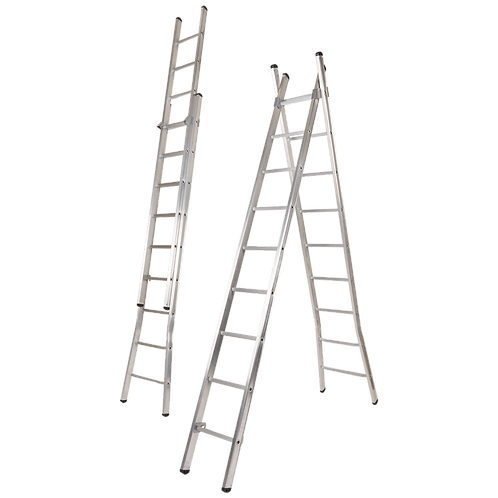 Escada Dupla Deg. Redondo