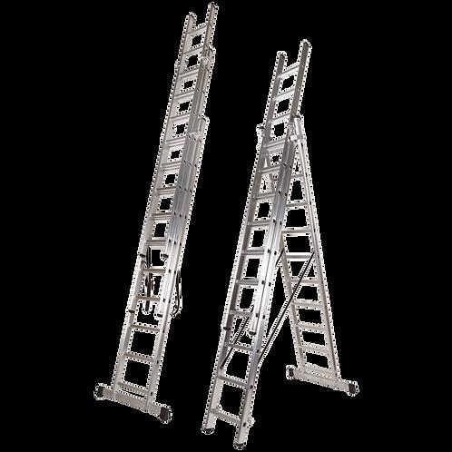 Escada Tripla Deg. Quadrado