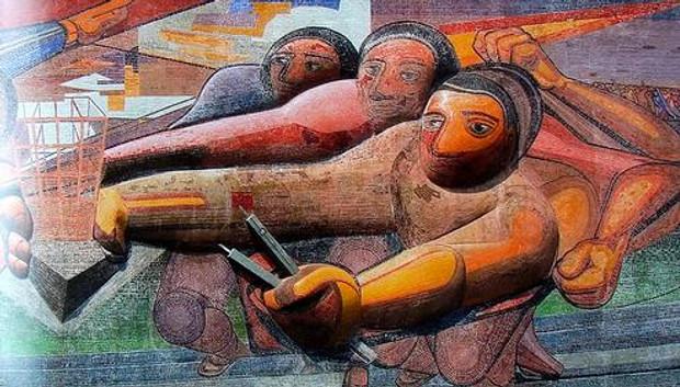el muralismo definición