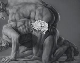 Kamene 5, 190x150cm, olej a akryl na plátne, 2020.jpg