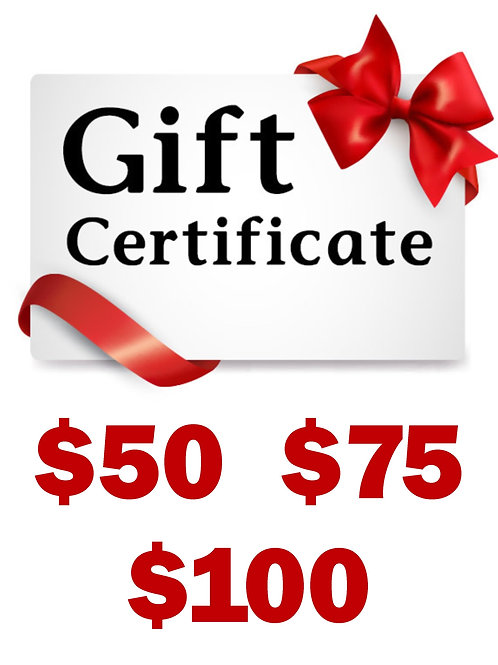 GGS Gift Certificates