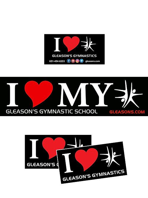 I LOVE GGS Bumper Sticker