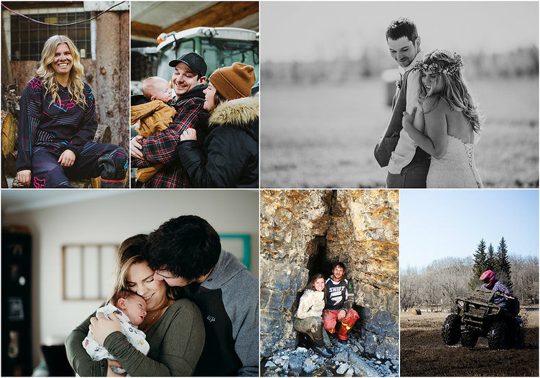 Collection of About Me Images - Married, Quadding, Forest, Alberta, Adventure