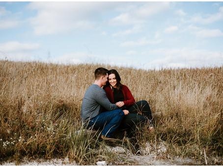 Nicole + Clayton | Date Night | Derwent, Alberta