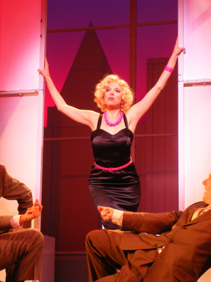 Hedy LaRue in HOW TO SUCCEED at White Plains PAC