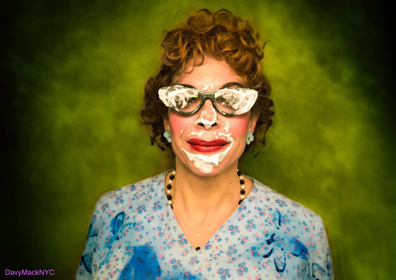 Neighbor Lady in BEETLEJUICE on Broadway (photo by Davy Mack)