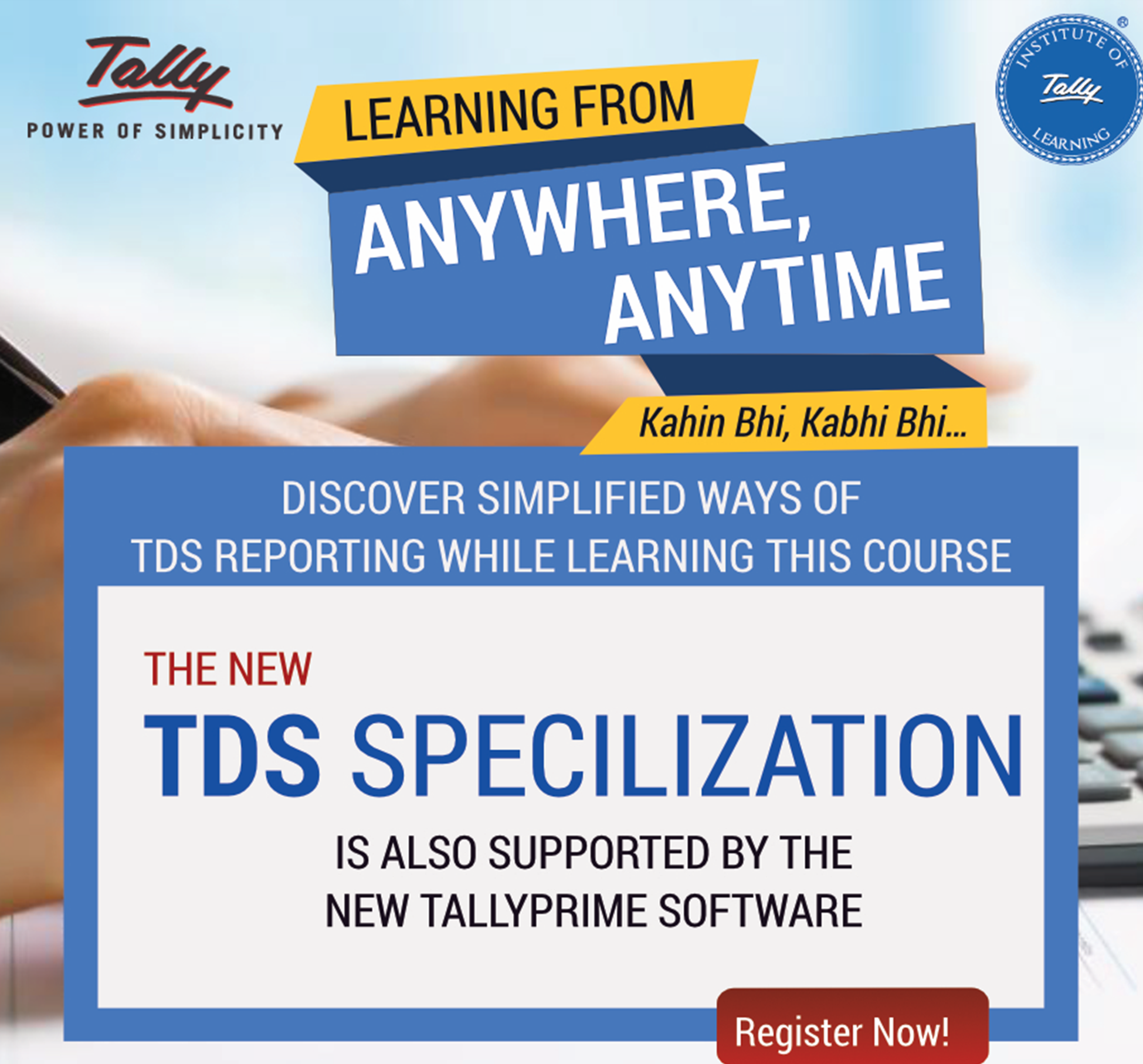 Course on TDS (With TallyPrime)