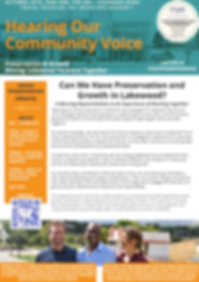 Hearing Our Community Voice Flyer_The Ar