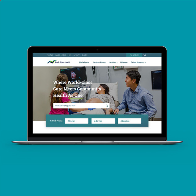 South Shore Health Website
