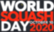 World Squash Day 2020 poster