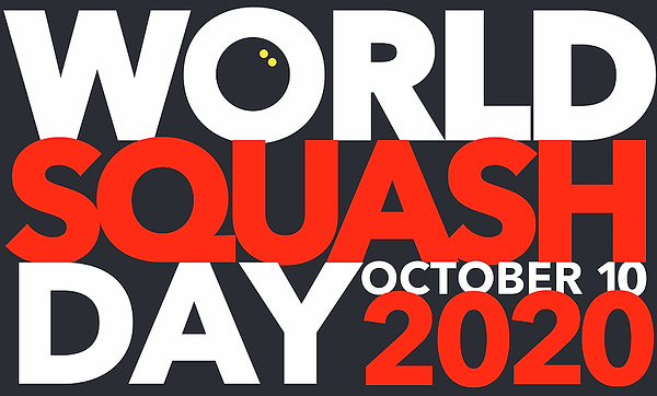 World Squash Day 2020 poster