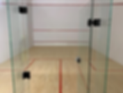 Swinton Barracks squash courts