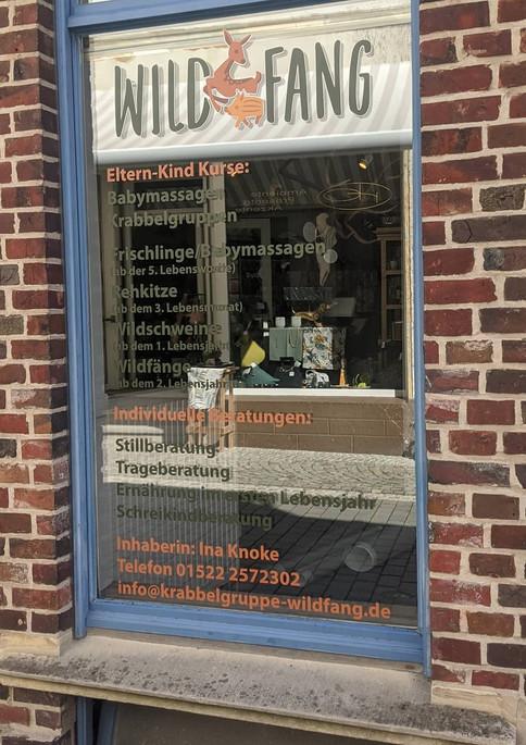 Schaufenster | Krabbelgruppe Wildfang | Billerbeck | Kreis Coesfeld