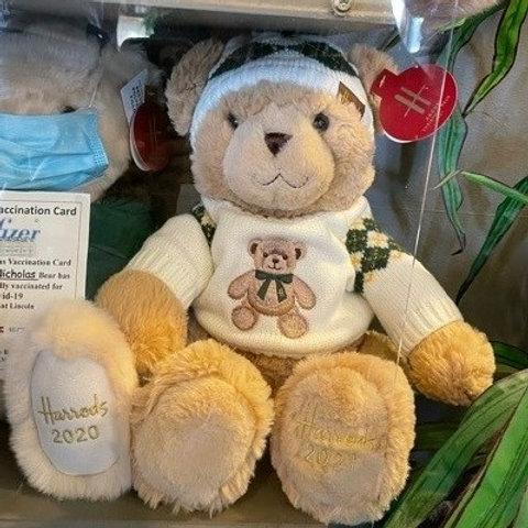 Harrods Christmas Bear 2021