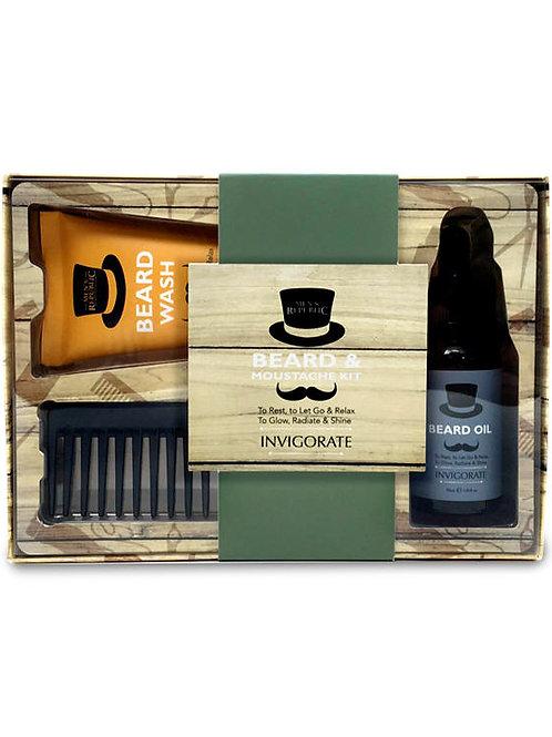 Men's Republic Grooming Kit - Beard & Moustache Care