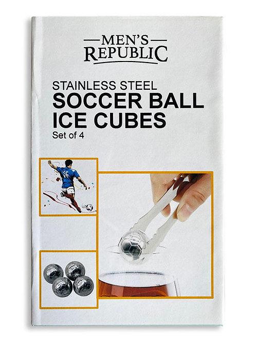 Men's Republic Soccer Ball Ice Cubes - 4 Pieces