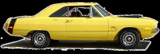 1972 Swinger 340 Special Y1 Top Banana yellow