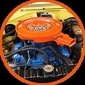 1972 340 engine stock
