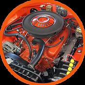 1970 340 engine stock
