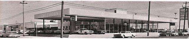 Crosstown Motor City performance dealership vintage photo