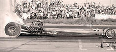 Crosstown George Sitko T/F Dragster vintage photo