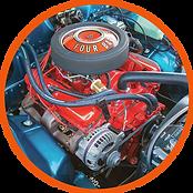 1968 340 engine stock