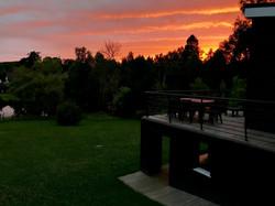 deux terrasses en pleine nature