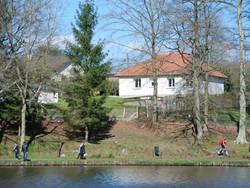 maison avec vue et accès direct sur le lac de l'Andelle