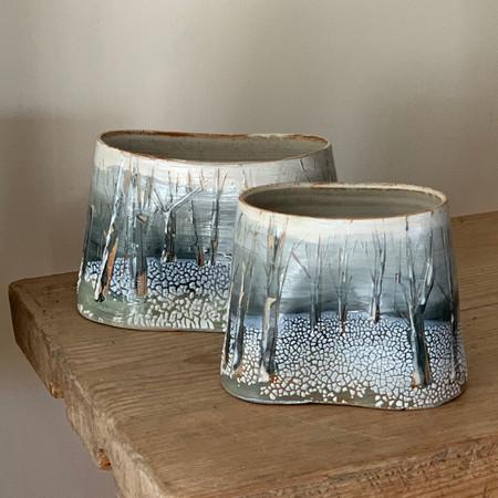 Snowscape vessels