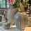 Thumbnail: Pale blue and tin white glazed jar