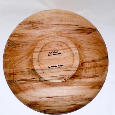 Ambrosia Maple Plate
