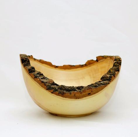 Box Elder Bowl with Natural Edges