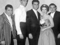 That's Paul Giacalone in the middle with Movie Star, Gloria DeHaven.