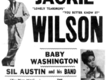 The Fireflies appeared with the greats of shoe business, such as Jackie Wilson...