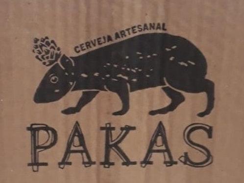 Cerveja PaKas Pilsen - caixa (6 latas 473 ml)