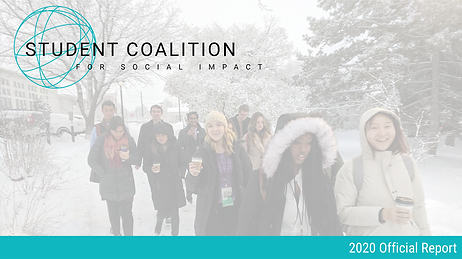 2020 Student Coalition for Social Impact