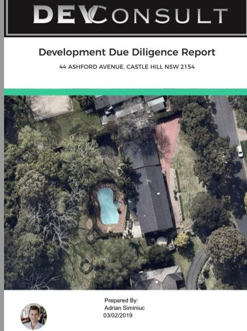1 x Property Report